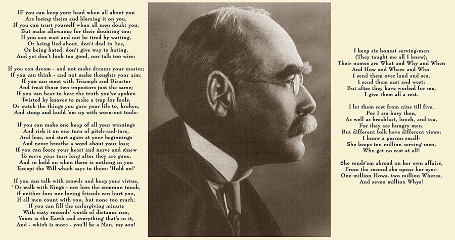 Image of Kipling poems