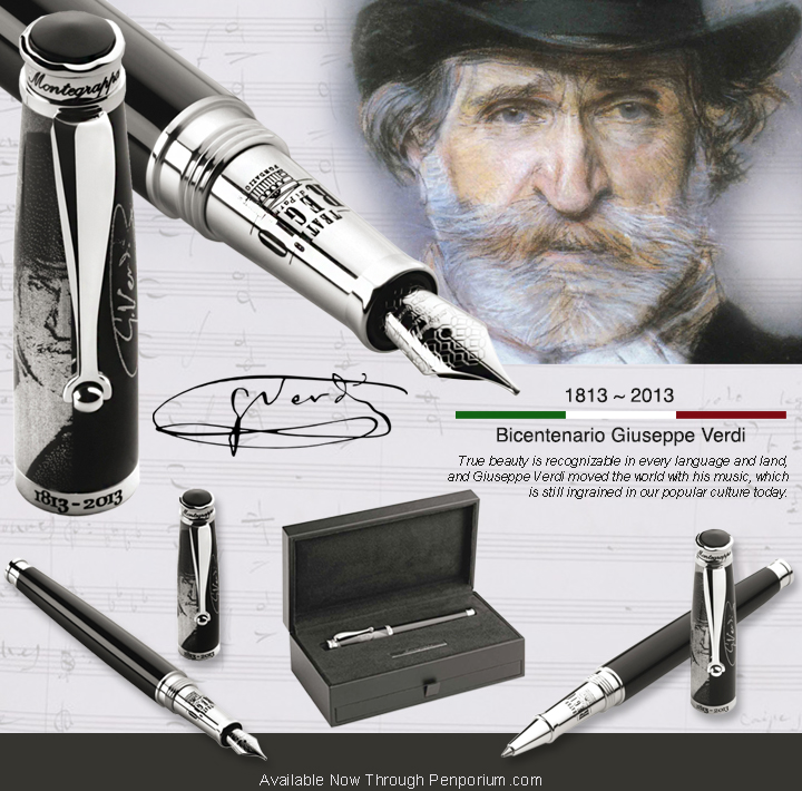 Montegrappa Giuseppe Verdi Limited Edition Pens