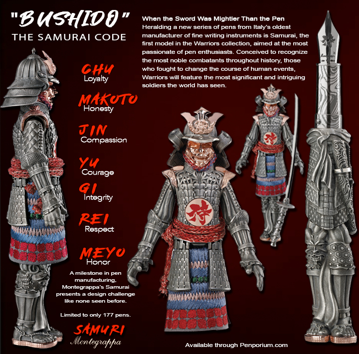 Montegrappa Samurai Limited Edition