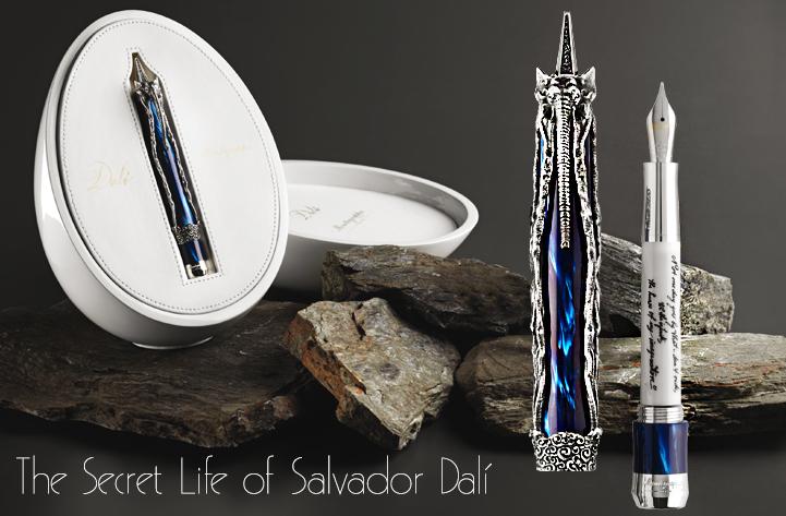 Montegrappa Salvador Dali Silver