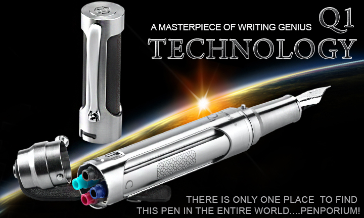 THE MONTEGRAPPA Q1: THE 21ST CENTURY FOUNTAIN PEN