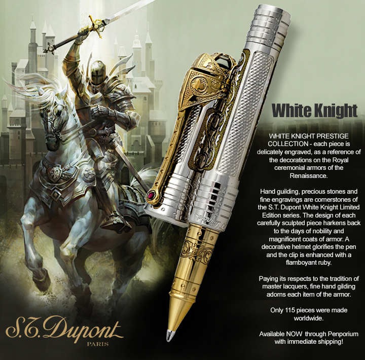 S.T. Dupont White Knight Limited Edition